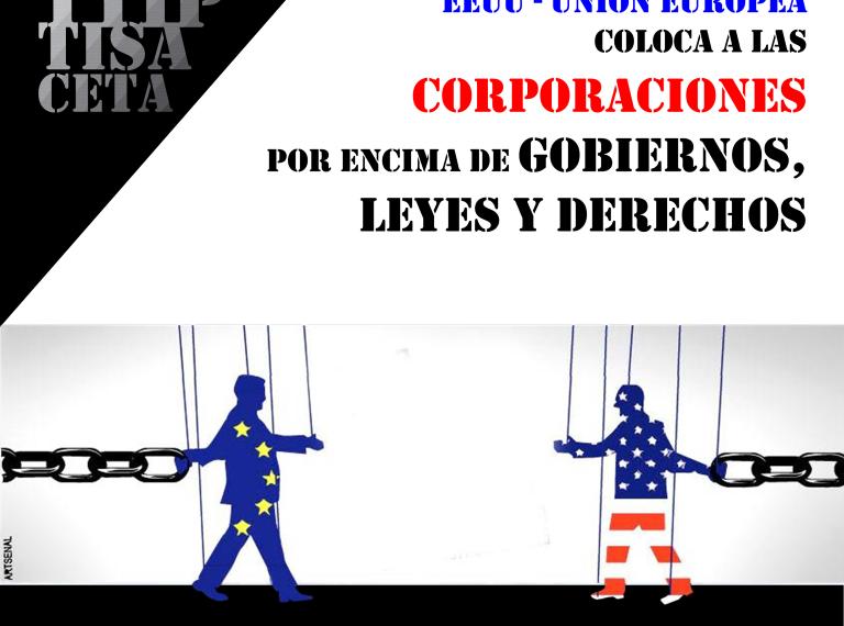 Conferencia-Debate Stop TTIP