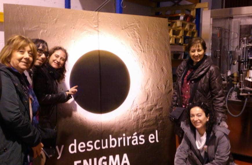 Visita del Grupo de Consumo a la fábrica de Cervezas Enigma