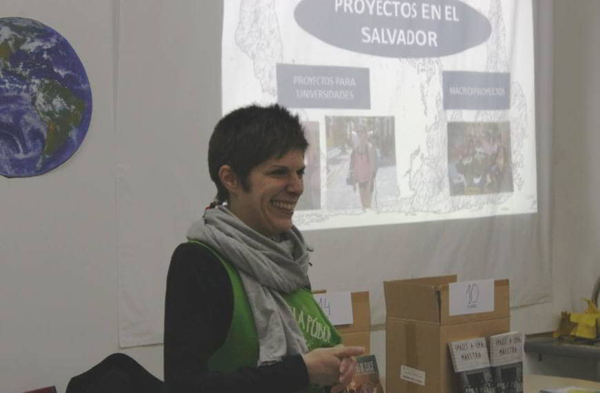 Aperitivo Solidario proyecto Renovación Educativa en El Salvador