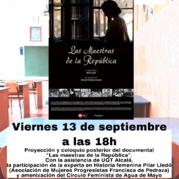 Maestras de la República. Documental y Debate