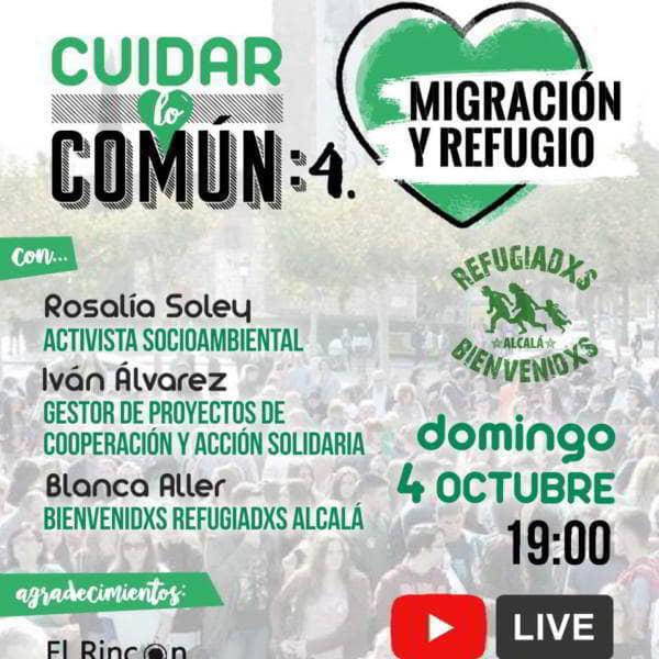 CUIDAR LO COMÚN. Migración y refugio