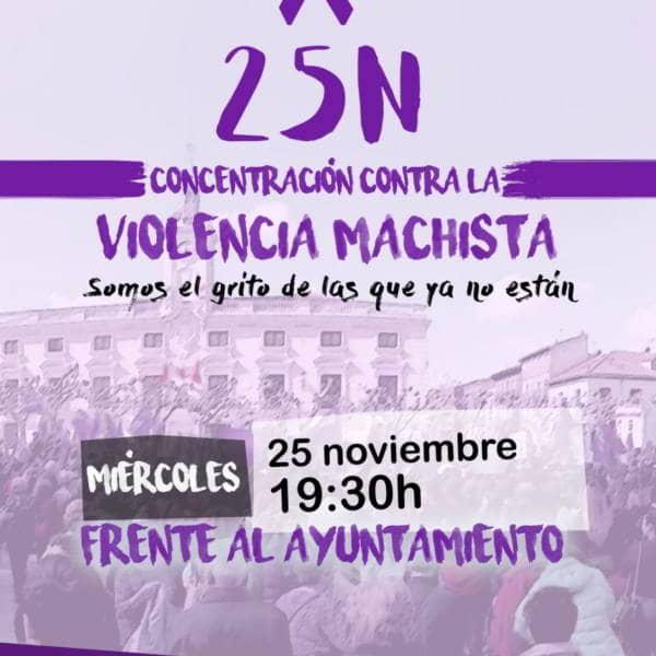 Campaña 25N Círculo feminista